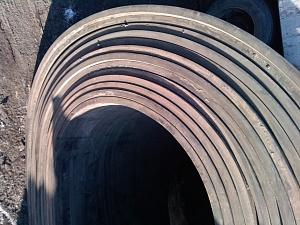 Шевронная лента РБ резиновый борт